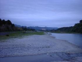 福島県楢葉町の海岸・パーキング泊