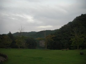 亀山湖・P泊