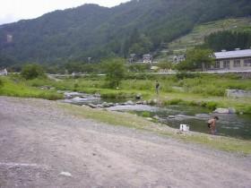 丹波山村村営釣り場・P泊