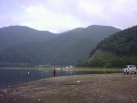 精進湖・P泊