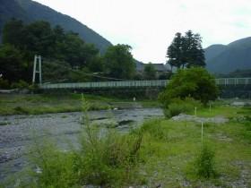 丹波山村村営釣り場・車中泊