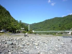 丹波山村マス釣り場