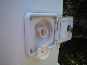 キャブコンの清水タンク