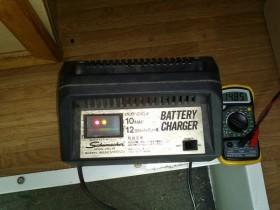 サブバッテリーの充電