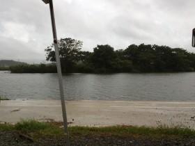 道の駅水の郷さわら近くの利根川の河原 (3)